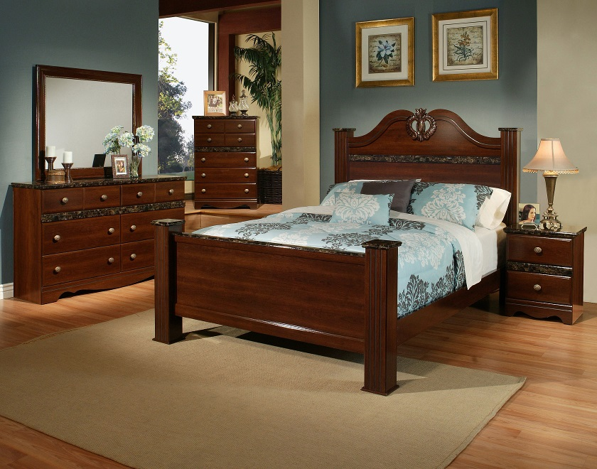 Queen Bed – THE IMPERIAL FURNITURE